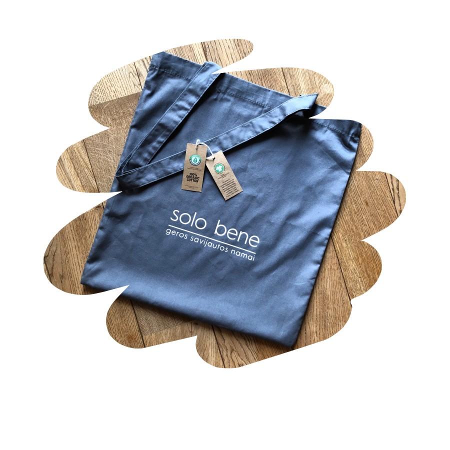 Organinės medvilnės krepšys